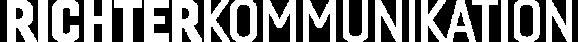 richterkommunikation logo weis